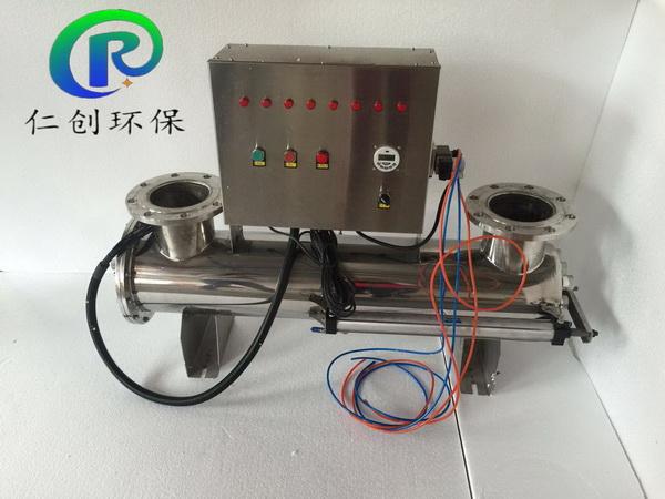北京污水处理厂用上自清洗式紫外线消毒器了